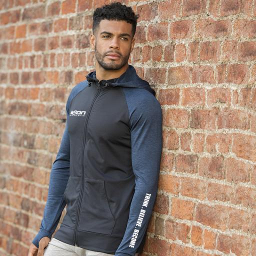 ICON Athletic Men's Contrast Performance Hoodie