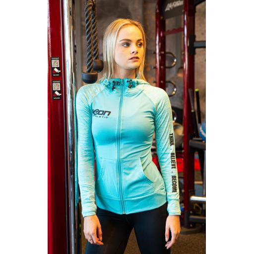 ICON Athletic Women's Contrast Performance Hoodie