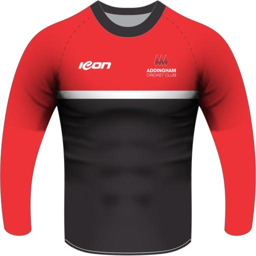 Addingham CC Training T-Shirt Long Sleeve