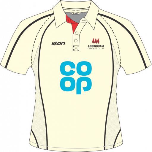 Addingham CC Playing Shirt - Short Sleeve