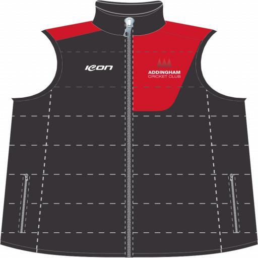 Addingham CC Puffer Vest