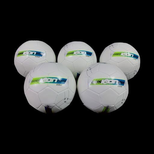 Icon Edge 5 x Training Football Bundle
