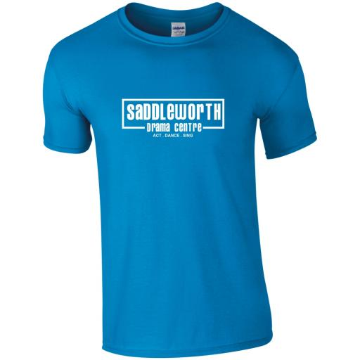 Saddleworth Drama Centre Soft Style T-Shirt - Adult