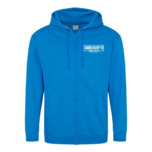 Saddleworth Drama Centre Zipped Hoodie - Adult