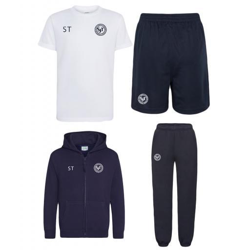 St John's CE Thornham Primary shorts, T, hoodie and jog pants Bundle