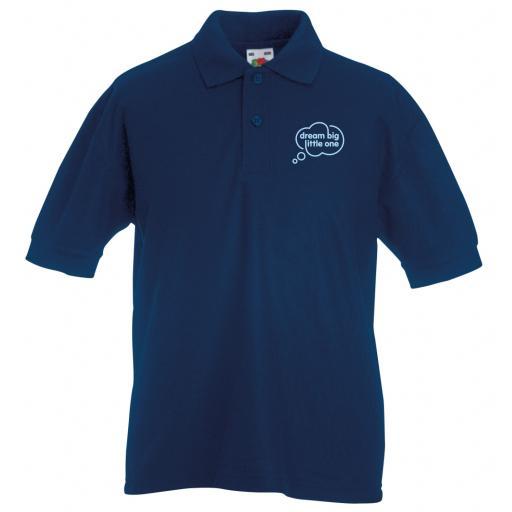 DBLO Kids Pique Polo Shirt