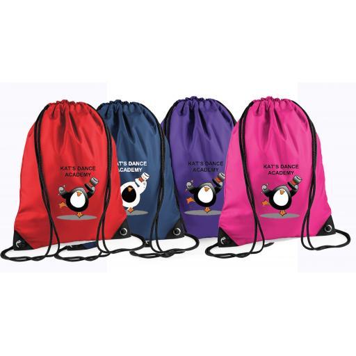 Kat's Dance Gym Bag