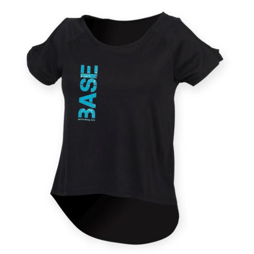 BASE Performing Arts Women's Drop Tail T-Shirt