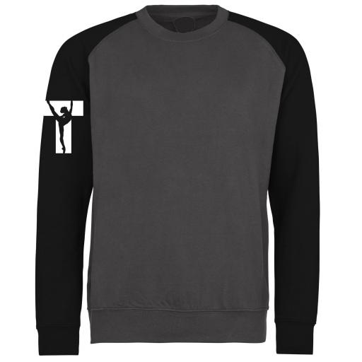 Torque Dance 'Standard' Baseball Sweatshirt