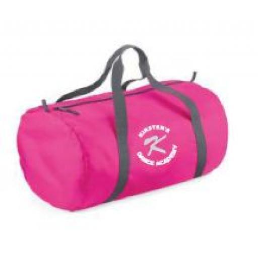 Kirstens Dance Academy Barrel Bag