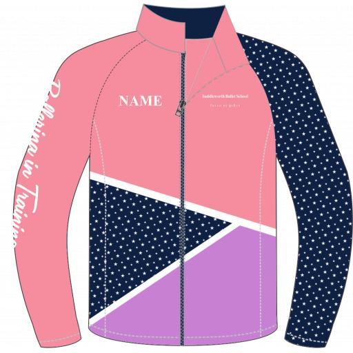 Saddleworth Ballet - Pink Track Jacket