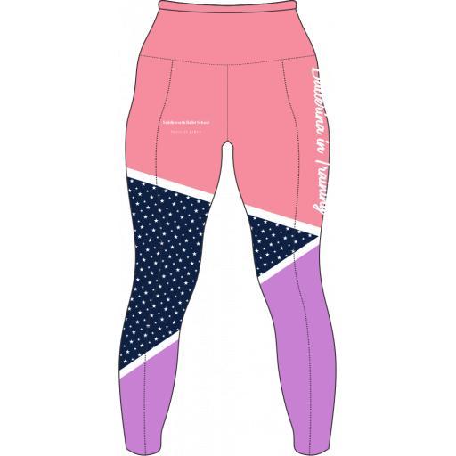 Saddleworth Ballet - Pink Leggings