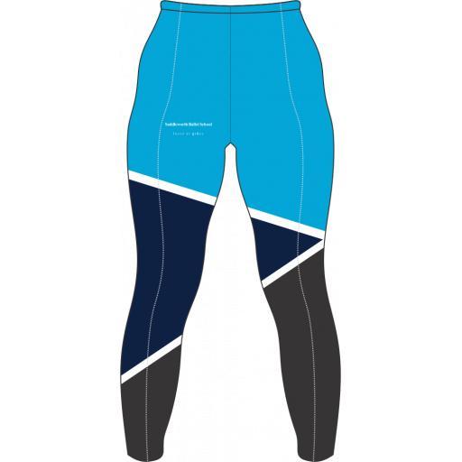 Saddleworth Ballet - Blue Leggings