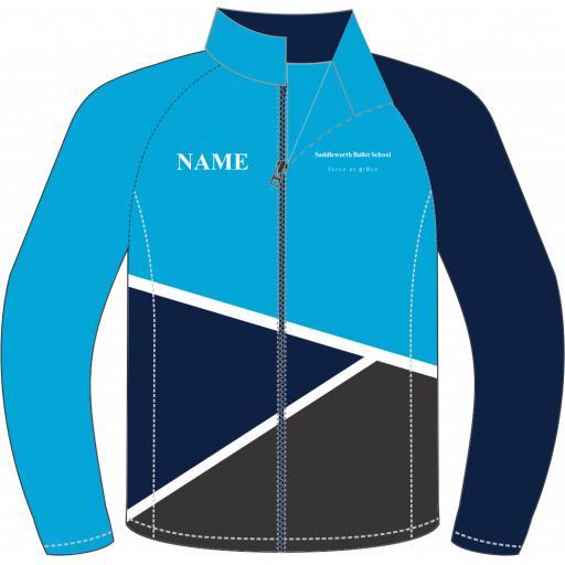 Saddleworth Ballet - Blue Track Jacket