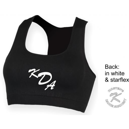 Kirstens Dance Academy Woman's Workout Cropped Top