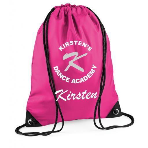 Kirstens Dance Academy Drawstring Bag