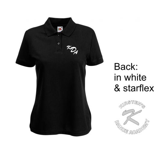 Kirstens Dance Academy Womens 65/35 Polo Shirt