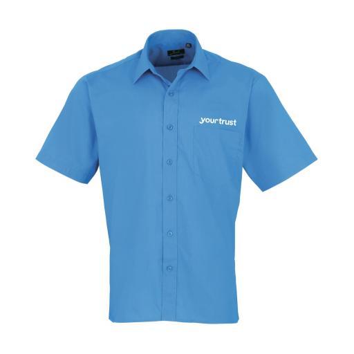 yourtrust Short Sleeve Poplin Shirt - Male
